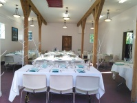 Winter reception in the former Winery