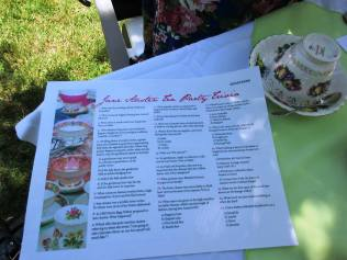 Annual Jane Austen tea party