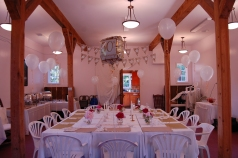 50th wedding anniversary dinner in former winery